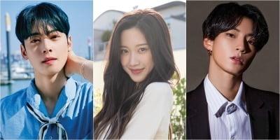 '여신강림' 문가영·차은우·황인엽, '만찢' 라인업 완성