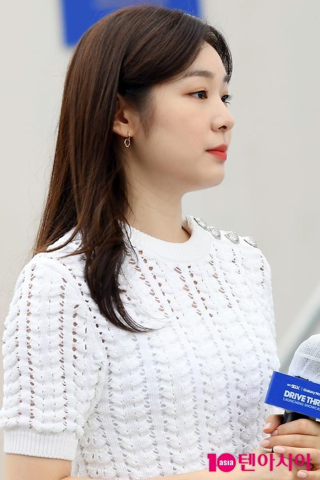 [TEN 포토] 김연아 '무결점 비주얼'