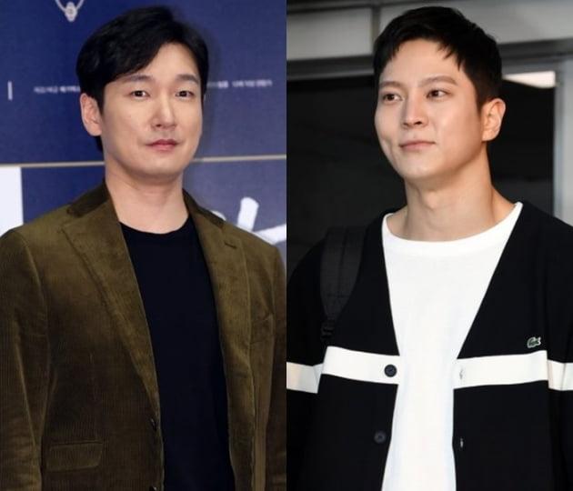 배우 조승우(왼쪽)와 주원/ 사진=텐아시아 DB