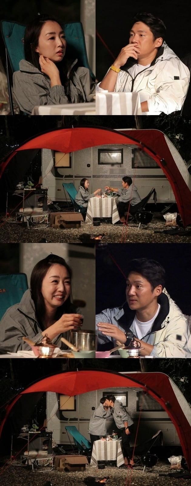 '동창이몽2' 송창의·오지영 가족이 캠핑을 떠난다. / 사진제공=SBS