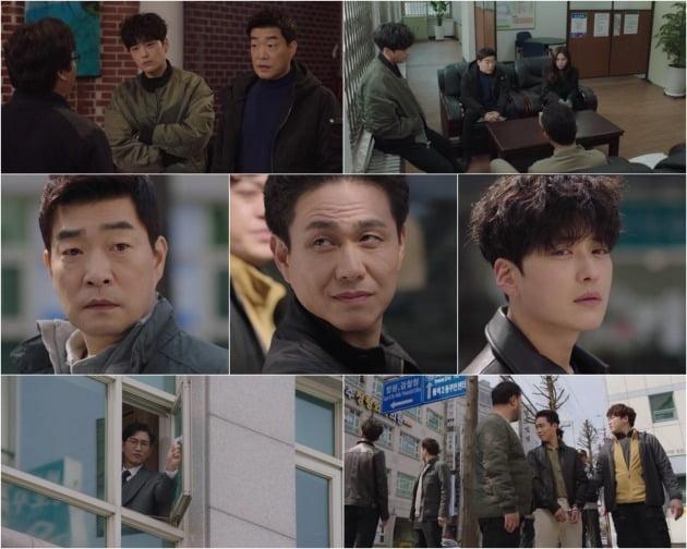 '모범형사' 방송 화면./사진제공=JTBC