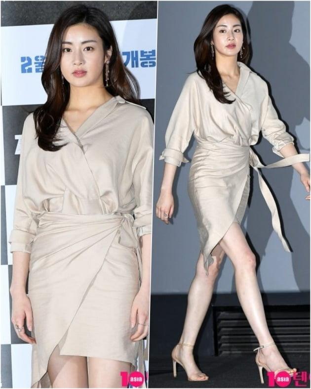 강소라 '우아함의 결정체'(19.02.19 영화 엄복동 언론시사회)