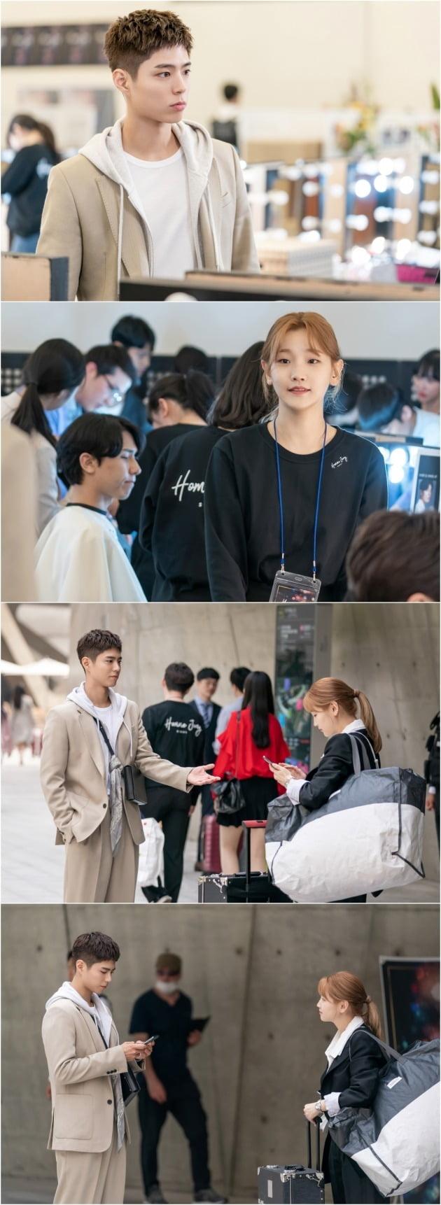 '청춘기록' 박보검, 박소담의 첫 만남 현장이 공개됐다. / 사진제공=tvN