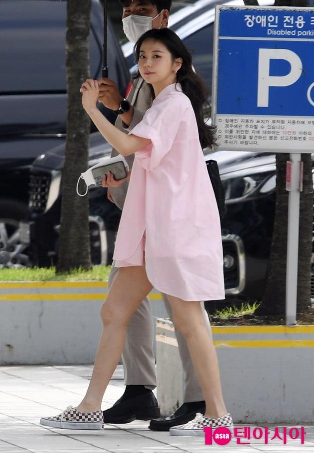 [TEN 포토] 안소희 '섹시한 하의실종'