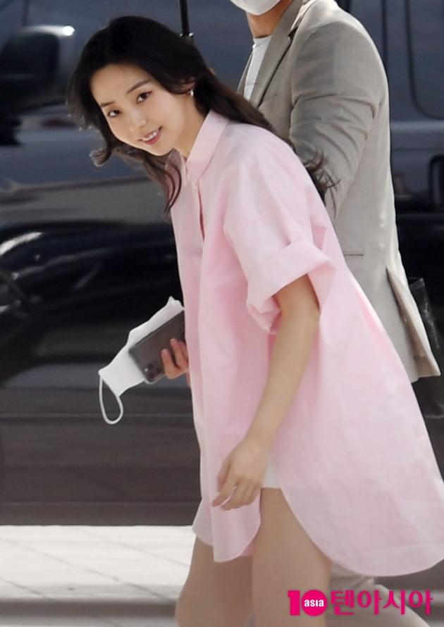 [TEN 포토] 안소희 '상큼한 미소'