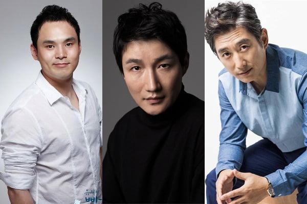 배우 서성종(왼쪽부터), 허동원, 김원해가 코로나19 확진 판정을 받았다. / 사진=각 소속사, 텐아시아DB