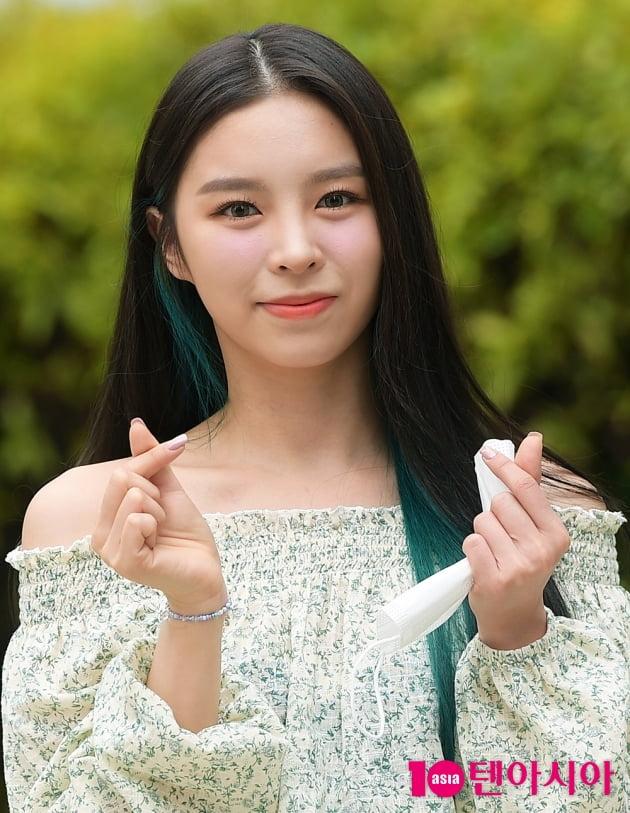 [TEN 포토] CLC 엘키, '눈맞춤에 심장이 쿵'