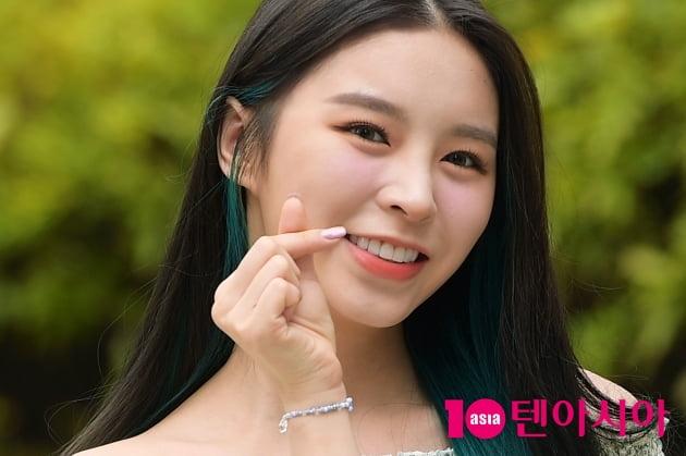 [TEN 포토] CLC 엘키, '치명적인 애교'