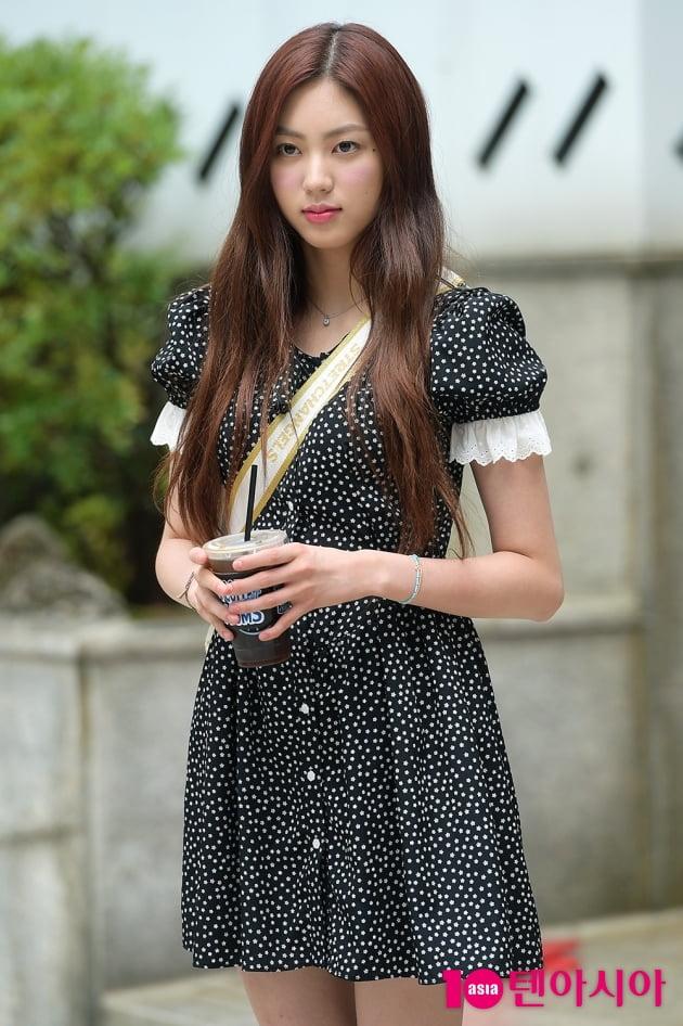 [TEN 포토] CLC 권은빈, '많이 예쁜 출근길'