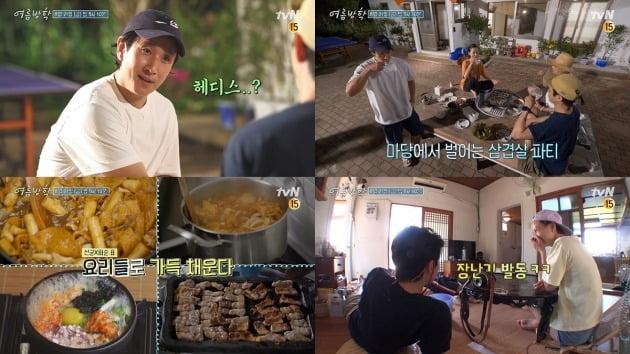 '여름방학' 이선균과 박희순이 건강한 여름나기에 돌입한다. / 사진제공=tvN