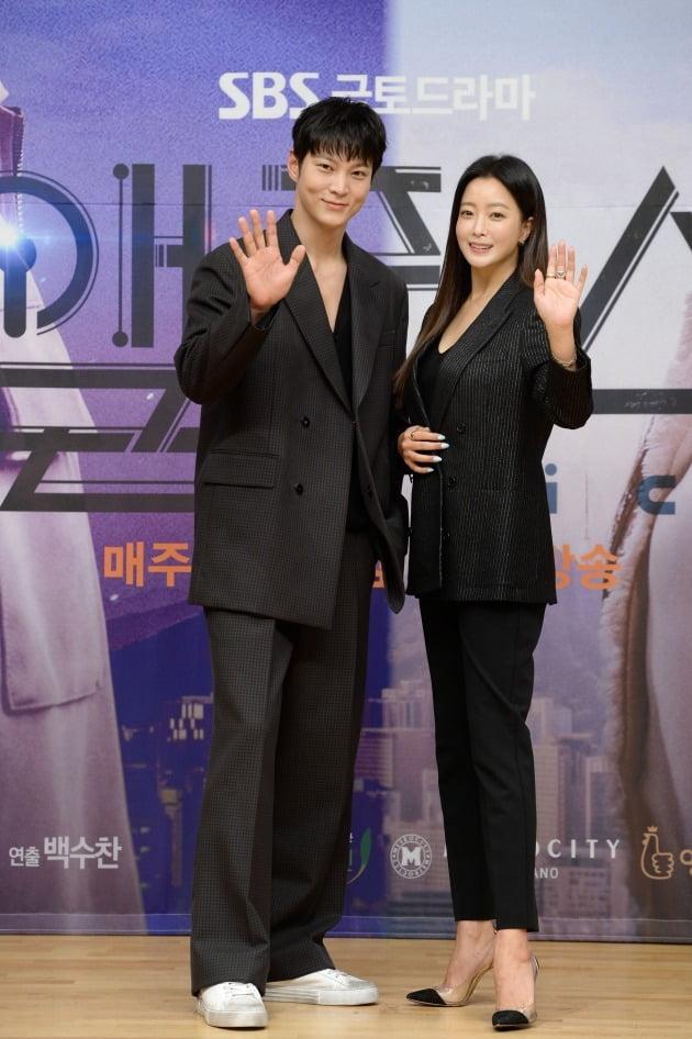 '앨리스' 출연 배우 주원(왼쪽), 김희선/ 사진=SBS 제공