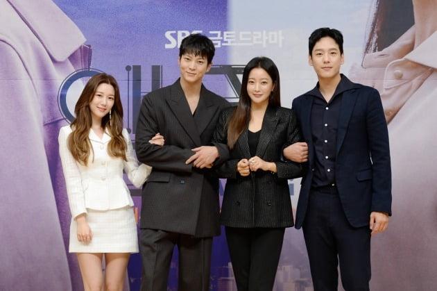 '앨리스' 출연 배우 이다인, 주원, 김희선, 곽시양/ 사진=SBS 제공