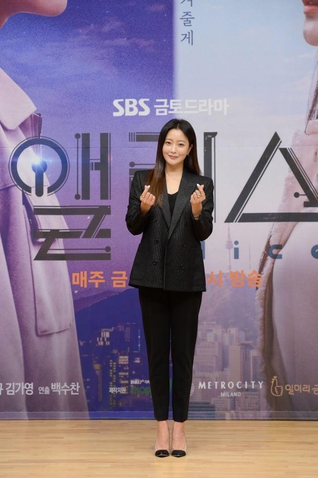 '앨리스' 출연 배우 김희선/ 사진=SBS 제공