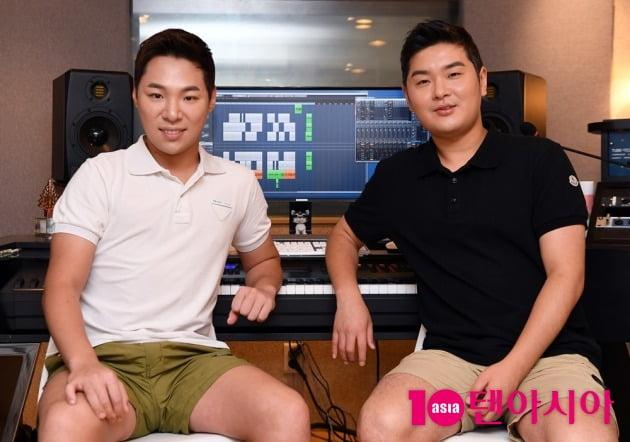작곡가 알고보니 혼수상태 김지환(왼쪽)-김경범./ 사진=텐아시아DB