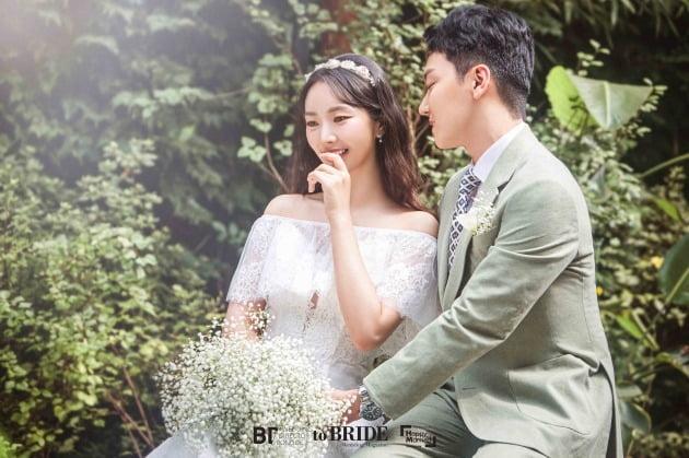 배우 배슬기 웨딩 화보./사진제공=해피메리드컴퍼니
