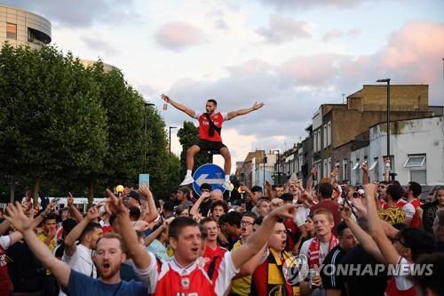 '오바메양 2골' 아스널, 14번째 FA컵 우승…토트넘 UEL 2차예선