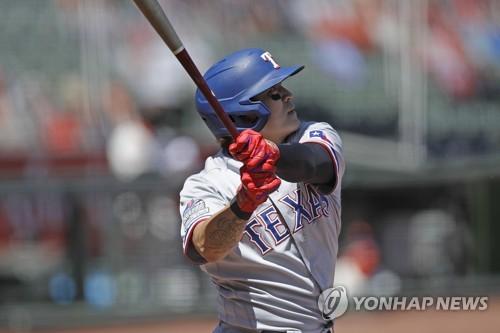추신수, 또 1회 선두타자 홈런…MLB 현역 선수 중 공동 1위