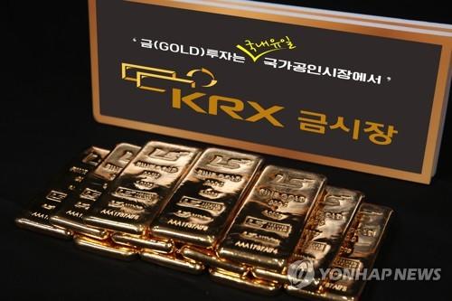 국제 금값 하락에…KRX 금값도 6% 급락(종합)