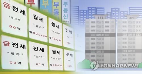"""전세가격 지수 역대 최고…한은 """"월세 선호 등이 요인"""""""