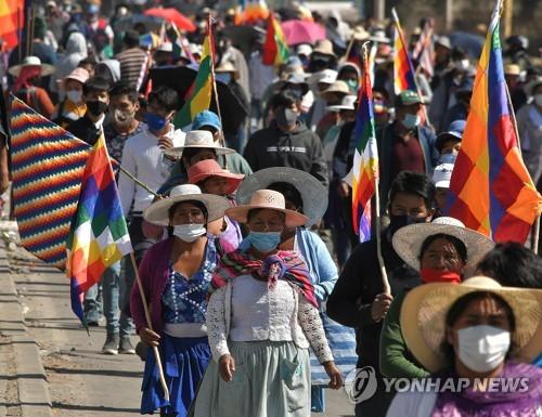 내각 공백·시위사태…코로나19 위기에 혼란 더해진 중남미