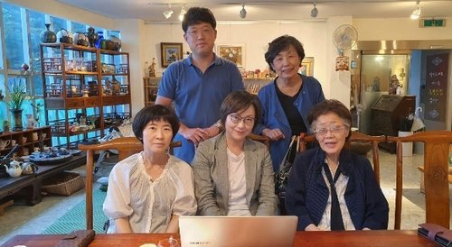 """이용수 할머니 12일 수요시위 불참…""""비 피해 고려"""""""