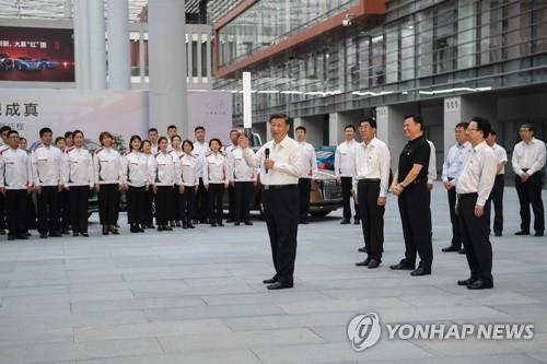 """시진핑 """"차기 경제발전 계획 잘 세워야""""…美의존 줄이나"""
