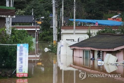 """방역당국 """"홍수로 넘친 물 만졌으면 흐르는 물에 손 씻어야"""""""
