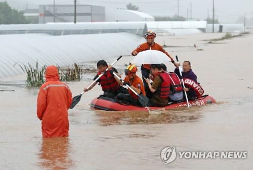 폭우로 나흘간 14명 사망·12명 실종…이재민 1천명 넘어