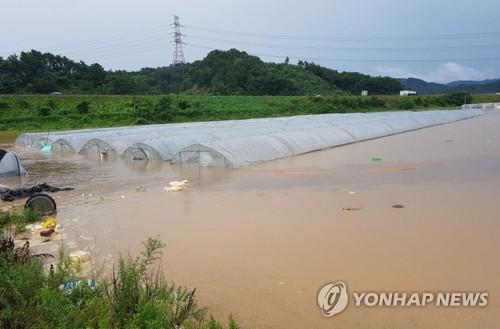 폭우 피해 '눈덩이'…이재민 1천587명·시설피해 4천281건