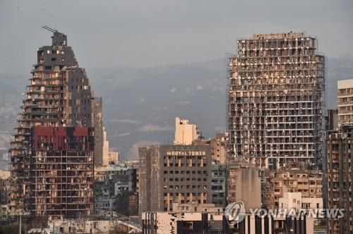 레바논 폭발 참사에 전 세계 구호 손길