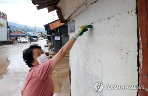 수마 할퀸 전국 곳곳 처참한 참상…태풍 '장미'까지 덮친다(종합)