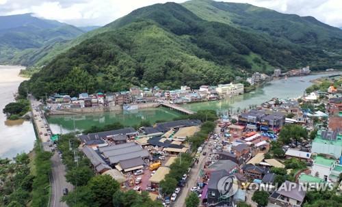 폭우로 전국 30개 전통시장 피해…화개장터 등 4곳은 복구중
