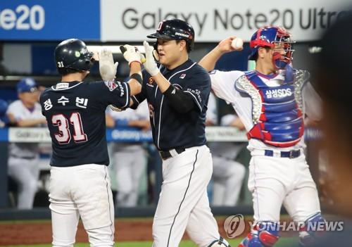 '사자 잡는 곰' 두산, 삼성전 대구 라이온즈 파크 승률 '0.824'