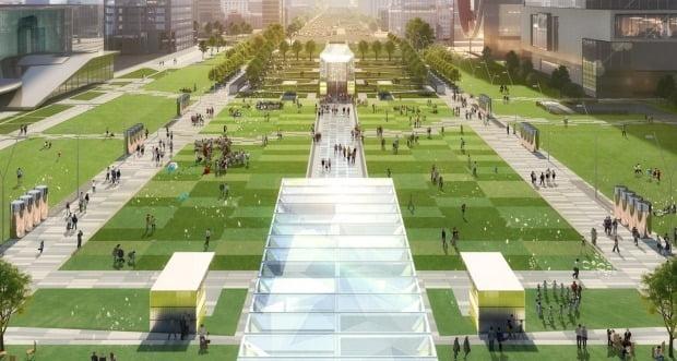 서울시가 조성중인 '영동대로 광역복합환승센터' 조성사업 조감도(사진=연합뉴스)