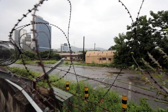 용산구 옛 미군기지 캠프킴. 사진=뉴스1