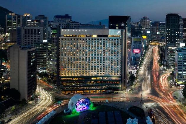 더 플라자 호텔 전경. 사진=한국경제신문 DB