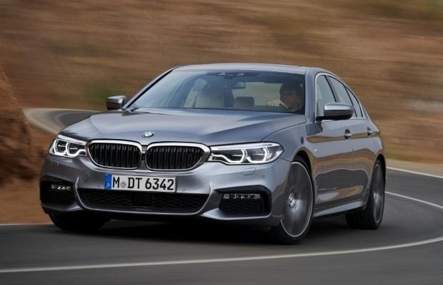 BMW 520이 8월 수입차 베스트셀링 모델에 올랐다.. 사진=BMW코리아