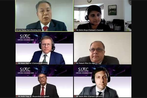 'SIAC 콩그레스 2020' 화상 회의로 개최