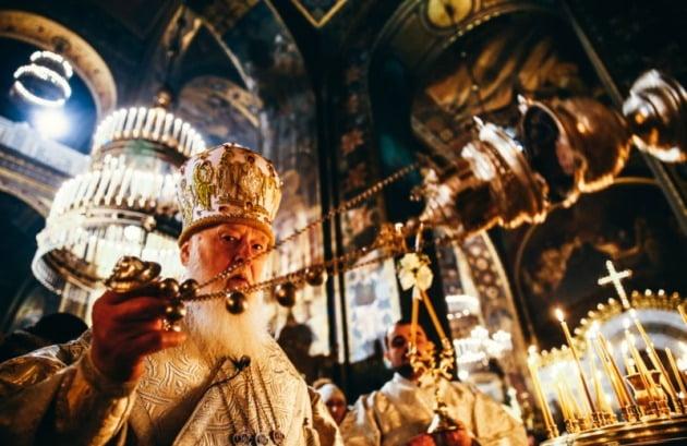 필라레트 데니센코 우크라이나 정교회 키예프 총대주교 [사진=우크라이나 언론 '키예프 포스트' 캡처]