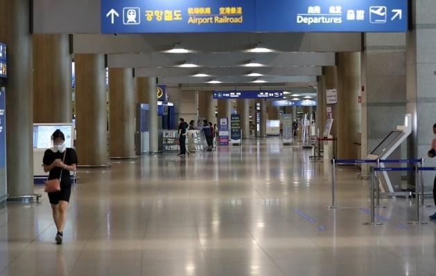 한산한 인천공항 모습 [사진=연합뉴스]