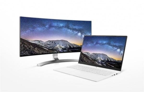 LG디스플레이 LCD패널이 탑재된 모니터와 노트북/사진제공=LG디스플레이