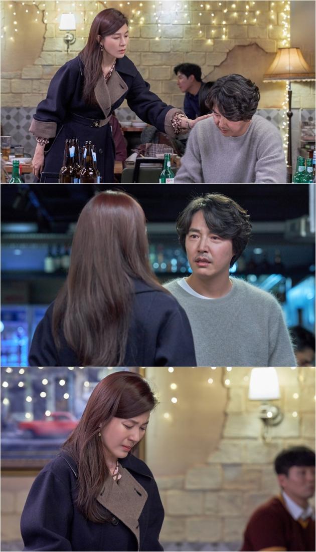'18 어게인' 김하늘 윤상현 /사진=JTBC