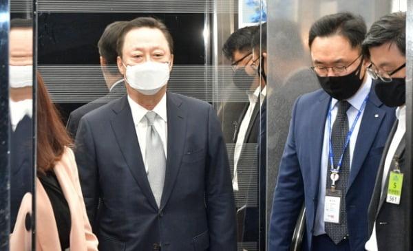 박용만 대한상의 회장이 22일 국회를 방문하고 있다. /사진=김범준기자 bjk07@hankyung.com