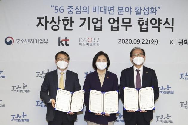 KT, 5G 중심의 비대면 분야 활성화를 위한 업무 협약 진행