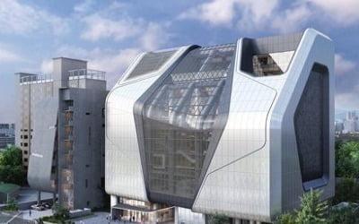 YG 신사옥 8년만에 완공…설계 '눈길'