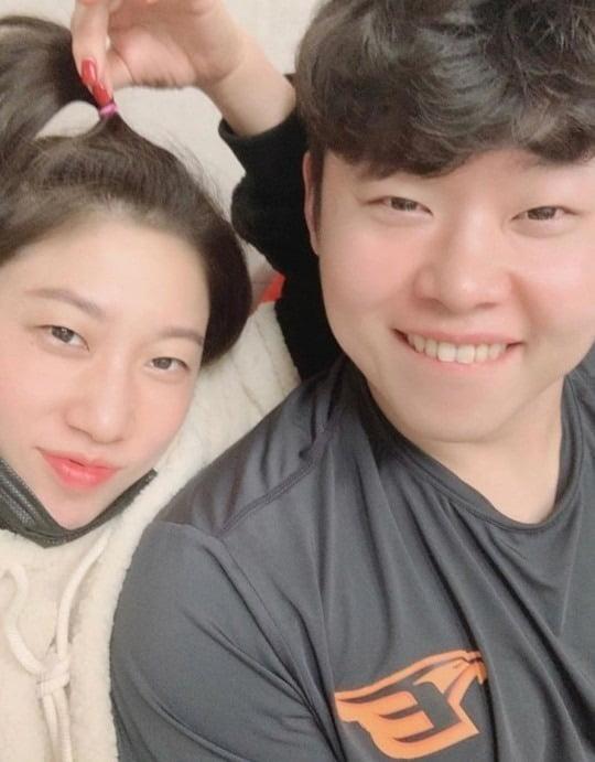 김영희 윤승열 / 사진 = 김영희 SNS