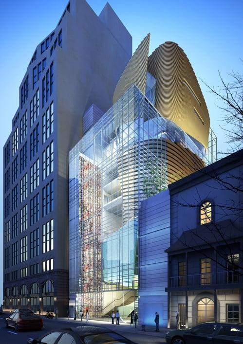 뉴욕 한국관광문화센터(코리아센터·조감도)