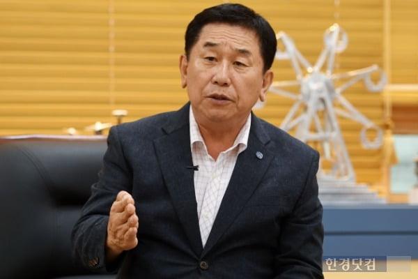 이석행 한국폴리텍 이사장 /사진=최혁 한경닷컴 기자 chokob@hankyung.com