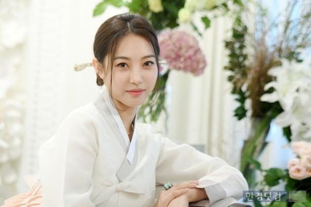 다혜 한복 인터뷰 /사진=최혁 기자