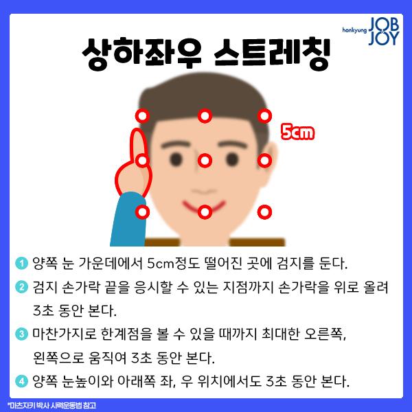 시력 회복법 운동